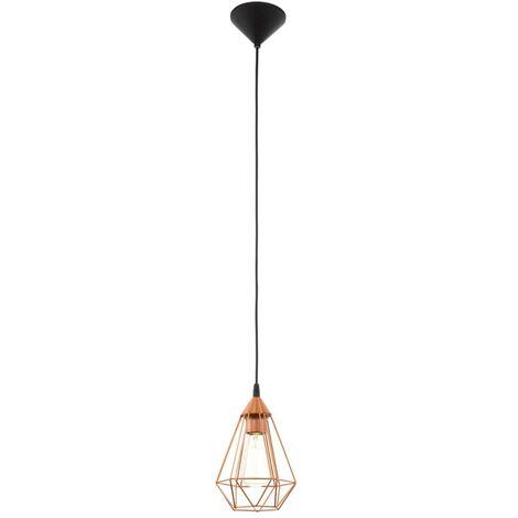 Lámpara colgante de techo, color cobre, EGLO Tarbes 94193