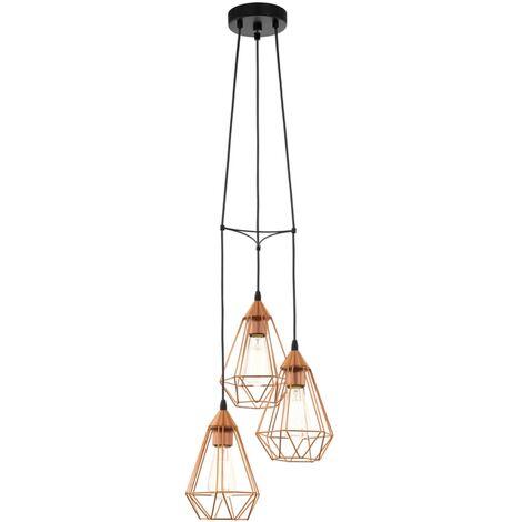 Lámpara colgante de techo, color cobre, EGLO Tarbes 94196