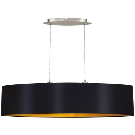 Lámpara colgante de techo, EGLO Maserlo 31616, 100 cm, Negro
