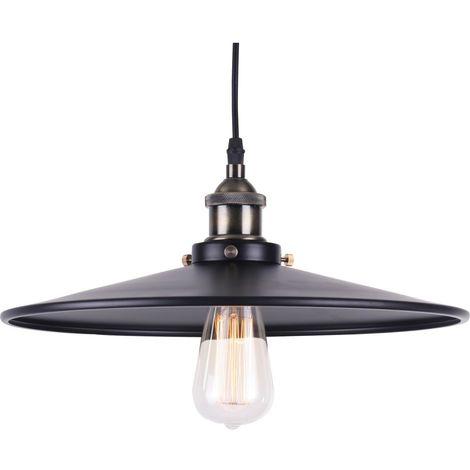 Lámpara Colgante Edison 162 – Aluminio Negro