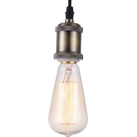 Lámpara Colgante Edison Bombilla – Aluminio