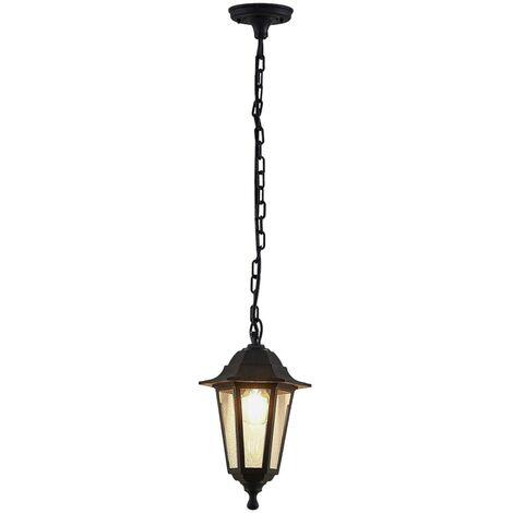 Lámpara colgante exterior Nane en forma de farol