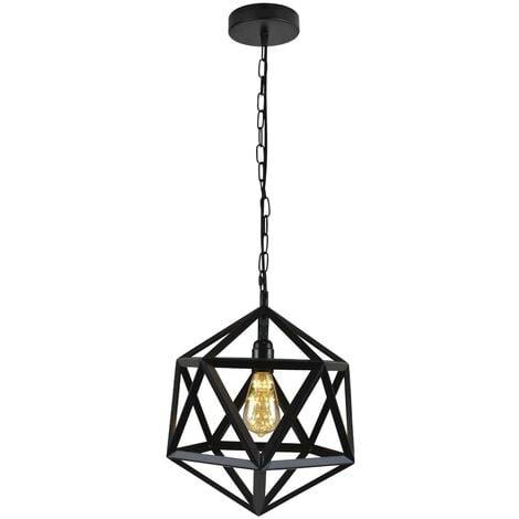 "Lámpara colgante icosaedro nórdica ""KODA"""