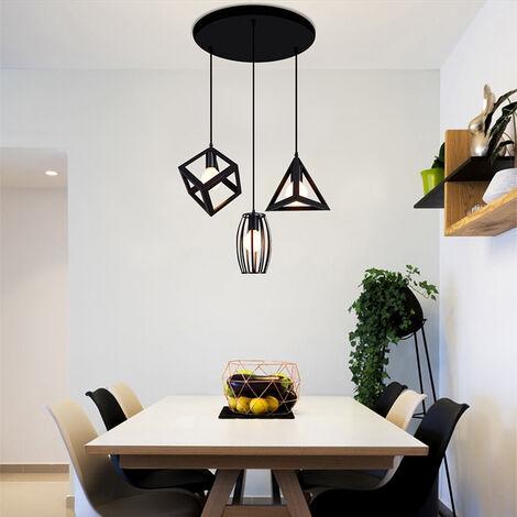 Lámpara Colgante Industrial Comedor Colgante lámpara colgante para mesa de comedor lámpara de comedor lámpara de sala dormitorio cocina vintage