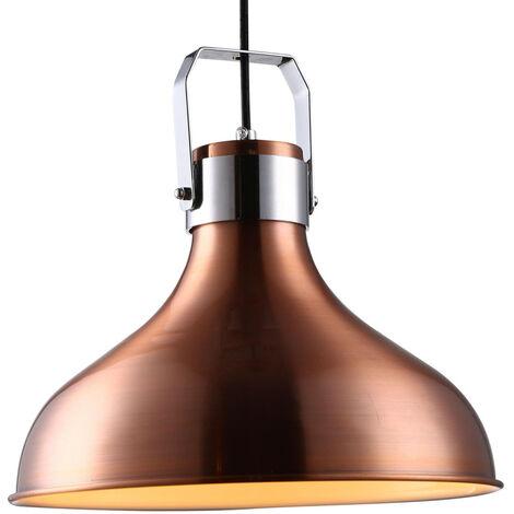 Lámpara colgante industrial de metal modelo Barum E27 Ø290mm (GSC 0705252)