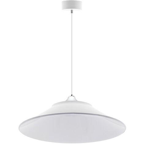 Lámpara colgante INDUSTRIAL LAMP blanco Housing 120º Ø485mm