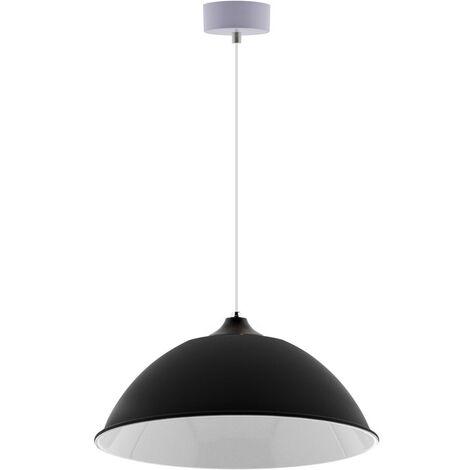 Lámpara colgante INDUSTRIAL LAMP negro Housing 90º Ø410mm