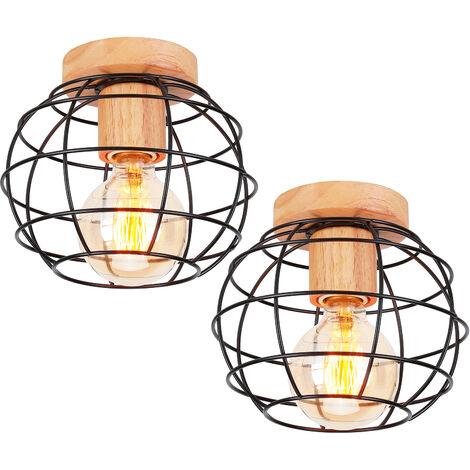 Lámpara colgante Industrial Lámpara Colgante Vintage para Loft Cafe Dining Decoración de Interiores Oro Rosa E27