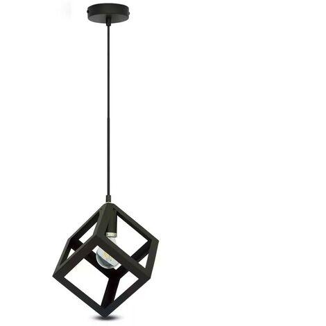 """main image of """"Lámpara Colgante Serie Geometric Cube Black"""""""