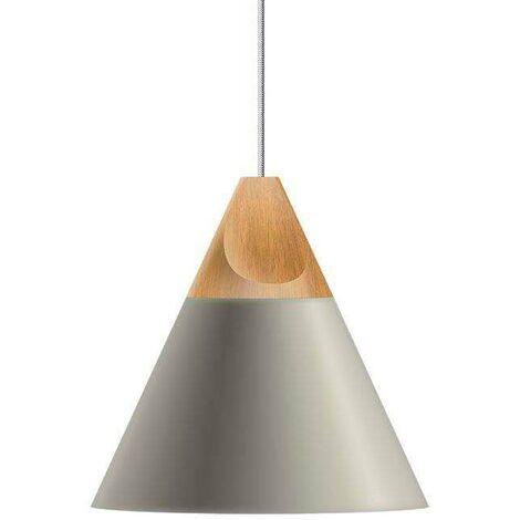 Lámpara colgante KONO Gris, E27