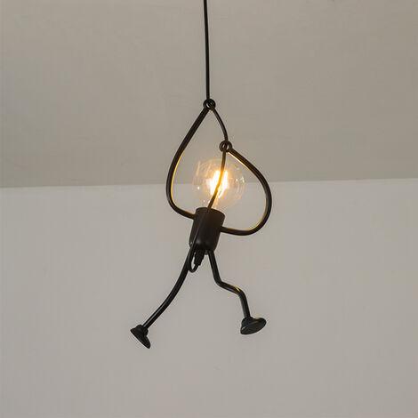 Lámpara colgante lámpara de techo vintage Creativo Luz colgante de Lámpara Salon Techo para comedor, dormitorio, sala de estar