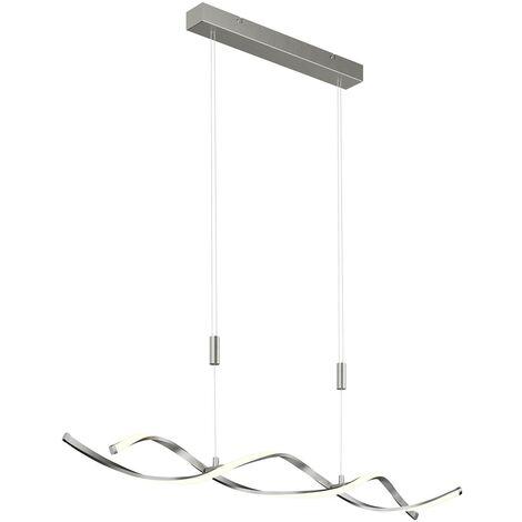 Lámpara colgante LED Auron de altura ajustable