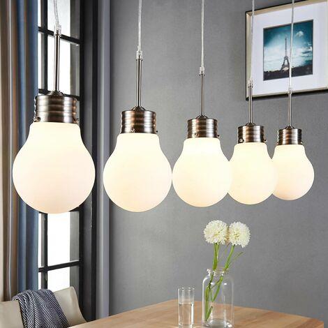 Lámpara colgante LED Bado atenuable, 5 luces
