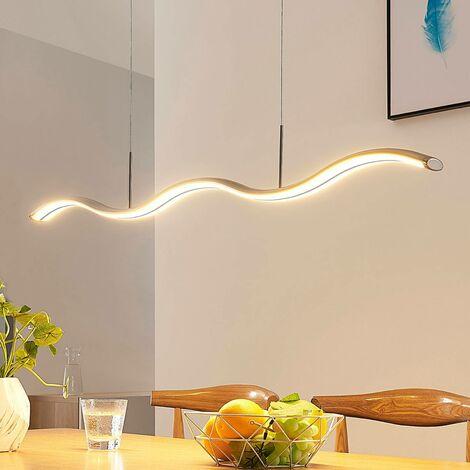 Lámpara colgante LED Brama de diseño ondulado