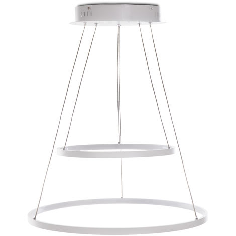 Lámpara Colgante LED Circle 62W 4810Lm 30.000H Alana [HO-SUS-CI-62W-02-W] | Blanco Natural (HO-SUS-CI-62W-02-W)