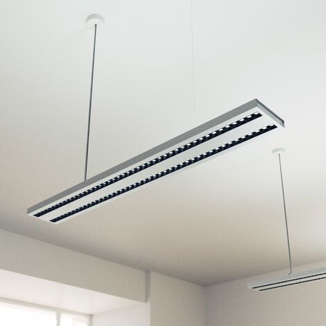 Lámpara colgante LED de oficina Konstantin