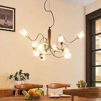 Lámpara colgante LED Hannes en diseño dinámico