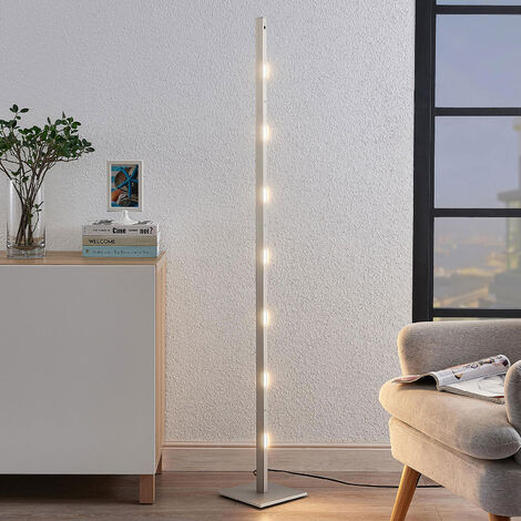 Lámpara colgante LED Margeau níquel, atenuable