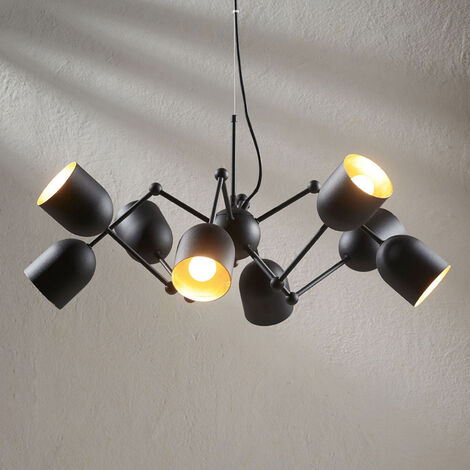 Lámpara colgante LED Morik de 8 brazos, Easydim