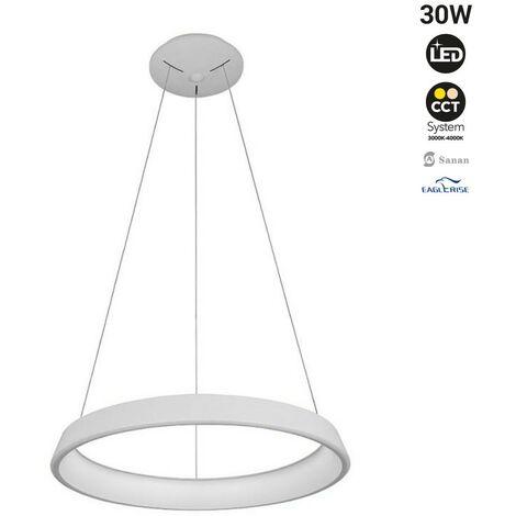 """Lámpara colgante LED nórdica """"ONCAMO 3"""" 30W"""