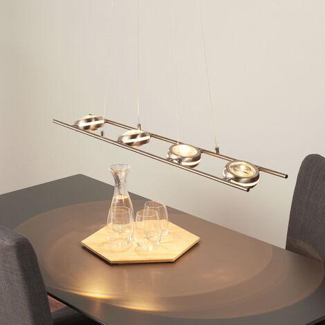 Lámpara colgante LED Samar, 8 brazos
