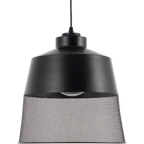 Lámpara colgante negra MUGA