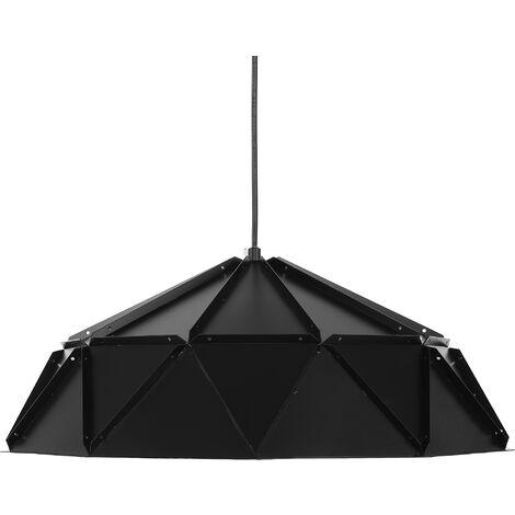 Lámpara colgante negra SENIA