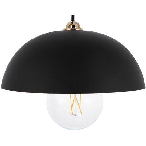 Lámpara colgante negra TORDERA
