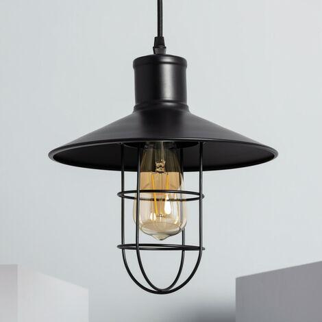 Lámpara Colgante Redding Negro