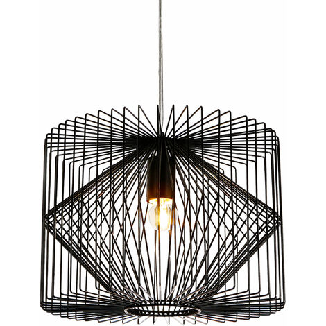 Lámpara colgante retro diseño celosía - (E27) - lámpara de techo - vintage