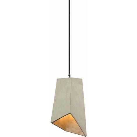 Lámpara Colgante Serie Concrete Abstract