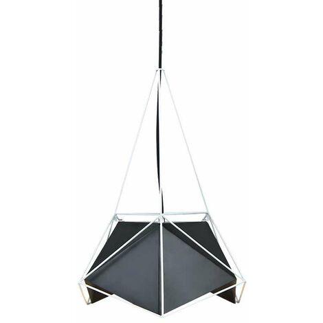 Lámpara Colgante Serie Net Prism Original Blanco