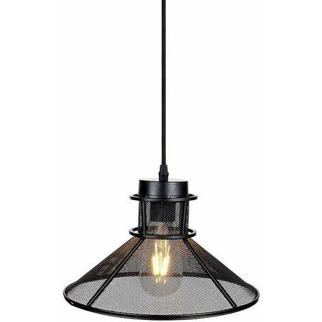 Lámpara Colgante Serie Sandy Bell Black