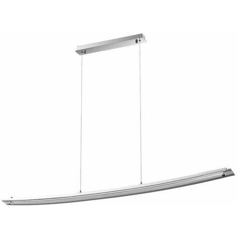 Lámpara Colgante Serie Sleek Lineal Curve Cristal 18W 4000K 120° Temperatura de color - 4000K Blanco natural