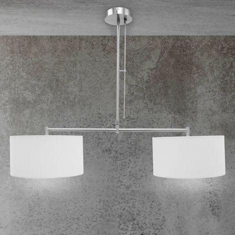 Lámpara colgante vintage bombilla de techo diseño 2x plafón decorativa E27