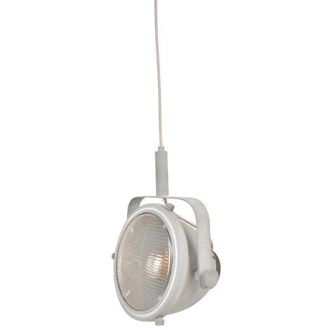 "Lámpara colgante vintage ""GROPI"" | Aluminio"