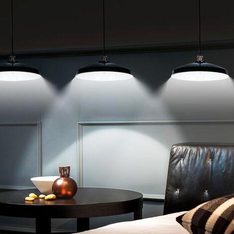 Lámpara colgante vintage Iluminación interior creativa Lámpara de pared de hierro de 40 W para sala de estar / dormitorio Comedor Blanco cálido Estilo contemporáneo y retro