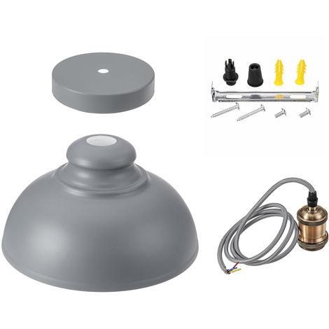 Lámpara colgante vintage lámpara de techo para sala 34X34X21cm Hasaki