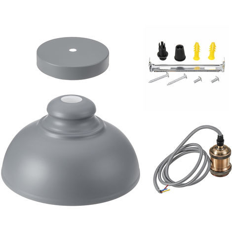 Lámpara colgante vintage lámpara de techo para sala 34X34X21cm Sasicare