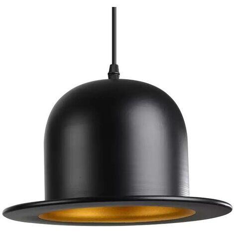 "Lámpara colgante vintage ""MISTER LAMP"" | Negro"