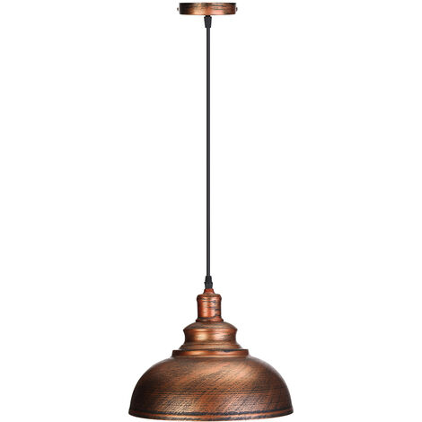 Lámpara colgante vintage retro lámpara industrial techo iluminación casa colgante