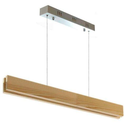 Lámpara colgante WOOD SUSPEND, 20W, CRI95