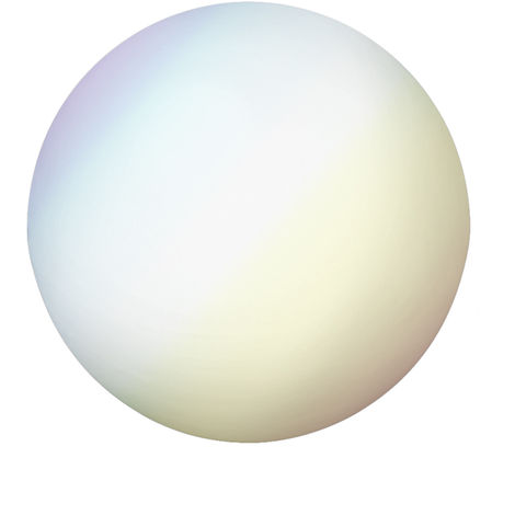 Lámpara con mando de luz led blanca, de Ø 30 cm