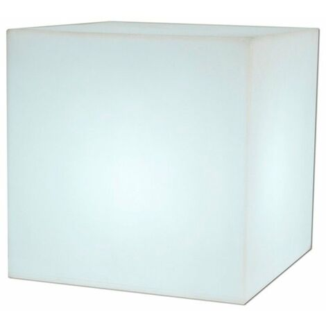Lámpara cubo decorativa LED Cuby Medidas 32CM