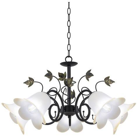 Lámpara de araña Borgo (5 luces)