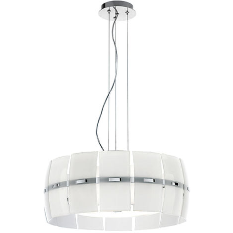 Lámpara de arana con pantalla de cristal cm 0 PERENZ 5856