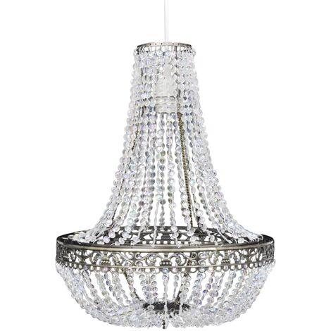 Lámpara de araña de cristal 36,5x46 cm
