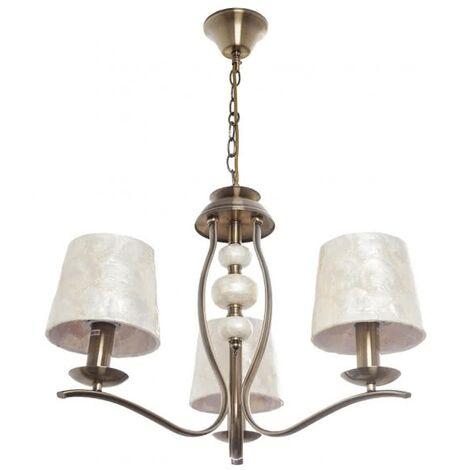 Lámpara de araña Iguazu (3 luces)