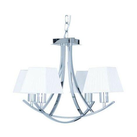 Lámpara de araña Indiana (4 luces)