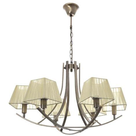 Lámpara de araña Indiana (6 luces)